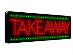 Takeaway LED Sign (LDX-29)